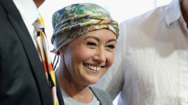 Shannen Doherty announces breast cancer in remission: 'I am blessed'