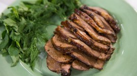 Leg of lamb with sweet and sour mint glaze: Make Bobby Flay's recipe for Easter