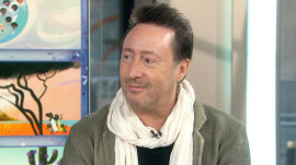 Julian Lennon on his new children's book and dad John Lennon's legacy