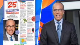 Lester Holt reveals '25 Things You Didn't Know About Me': Watch him sing!