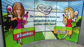 Should celebs feel obliged to pose for selfies with fans? Hoda says yes!