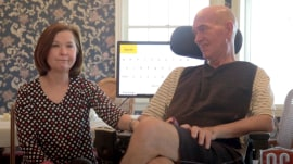 Thanks to a college project, man with ALS can say 'I love you' to wife