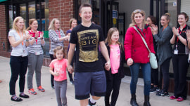 After being paralyzed from the waist down, man walks again