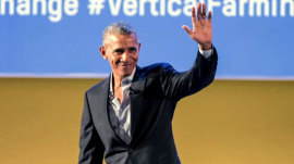 Obama's unbuttoned shirt: Was it TOO casual?