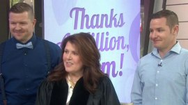 Watch mom who's earning her doctorate get a heartwarming surprise on TODAY