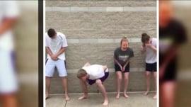 Teens are (voluntarily) pepper-sprayed in viral video