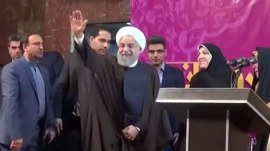Iran re-elects moderate President Hassan Rouhani by large margin