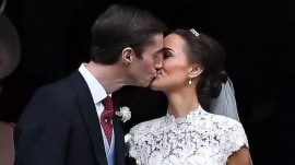 Duchess Kate's sister Pippa Middleton marries James Matthews