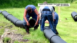Germans build an underground pipeline (for beer)