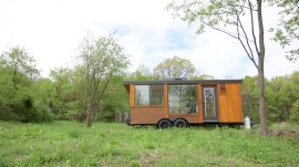 This tiny home is an off-the-grid oasis