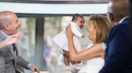 See Hoda Kotb's baby Haley Joy join TODAY for a sweet Mother's Day surprise!