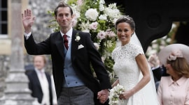 Pippa Middleton gets married in fairy tale wedding