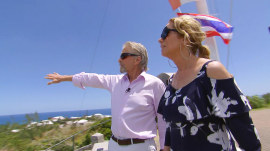 Michael Douglas gives Kathie Lee a personal tour of Bermuda