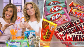 Weird new Hershey's flavors: See Hoda and KLG try barbecue PayDay bars