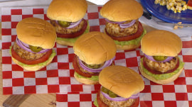 Chicken chorizo burgers, grilled corn: Make them for Memorial Day