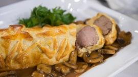 Beef Wellington, gelatin mold; Dylan Dreyer's mom shares her recipes