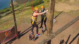 Sleepaway camp for grown-ups: Jenna and Natalie visit 'Campowerment'