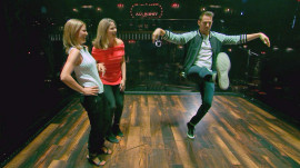 Natalie Morales and Jenna Bush Hager visit Channing Tatum's 'Magic Mike Live'