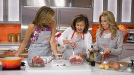 Watch Hoda Kotb's mom Sami cook pot roast and cauliflower for Mother's Day
