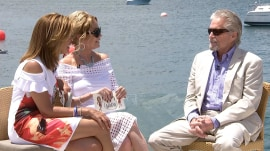 Michael Douglas tells Kathie Lee and Hoda why he loves Bermuda