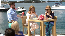 In Bermuda, Kathie Lee and Hoda drink rum cocktails and learn local slang
