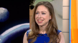 Chelsea Clinton talks about Hillary's campaign and her new children's book