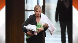 Australian senator makes history by breastfeeding daughter in Parliament