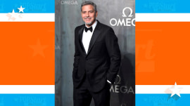 George Clooney skips awards ceremony because twins may arrive soon