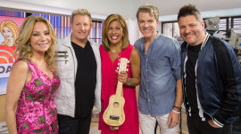 See the surprise Rascal Flatts give tearful Hoda Kotb for her baby Haley Joy