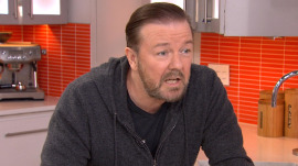 Ricky Gervais visits KLG and Hoda: Is this really going out over the air?