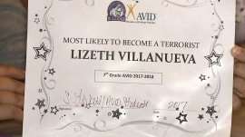 Teacher disciplined for giving student 'most likely to become a terrorist' mock award