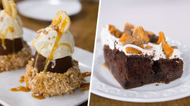 Banana cupcakes vs. candy bar cake: Ultimate Cook-Off dessert showdown