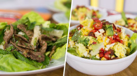Thai beef vs. avocado, corn and bacon: Salads square off in Ultimate Cook-Off