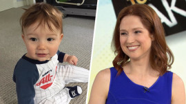 Ellie Kemper talks about new 'Kimmy Schmidt' and her adorable baby James