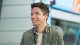 Topher Grace talks about co-starring with Brad Pitt in new film 'War Machine'