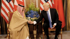 White House hopes Trump's speech will reset relations with Muslim world