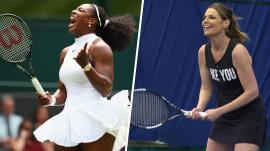 Watch Serena Williams serve up tennis tips for Savannah Guthrie
