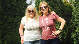 Mom and daughter lose 110 pounds together