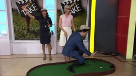 You could play golf with Dylan Dreyer in TODAY's Ultimate Golf Getaway