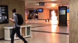 European security high after explosion in Brussels train station