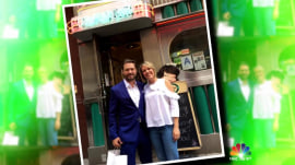 Dylan Dreyer meets her childhood idol: '90210' star Jason Priestley