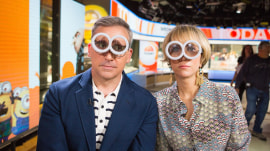 Steve Carell and Kristen Wiig talk 'Despicable Me 3' (in Minion goggles)