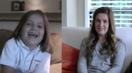 Dad films touching video chronicling 12 years of daughter's 1st days of school