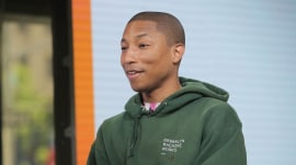 Pharrell Williams talks about 'Despicable Me 3' music and his new triplets