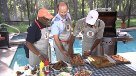 Barbecued ribs: See this deserving dad reveal his grilling secrets