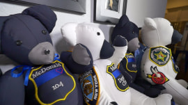 15-year-old creates Blue Line Bears for families of fallen officers
