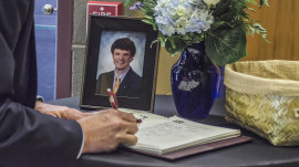 Thousands attend Otto Warmbier's funeral as North Korea still denies abuse