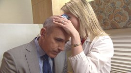 See Matt Lauer get a skin cancer check (you should get one too)