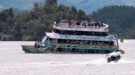 Boat carrying 150 sinks in Colombia: At least 6 are dead