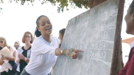 Rihanna's trip to Malawi: First images emerge